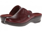69% off Clarks Lexi Dogwood (Burgundy) Women's Slip on Shoes