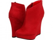 78% off Michael Antonio Cane (Red) Women's Dress Zip Boots