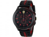 57% off Ferrari Men's 0830138 Scuderia XX Silicone Band Watch