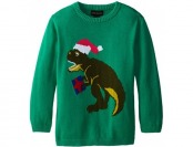 86% off Alex Stevens Boys' Ugly Christmas Sweater Santasaurus Rex