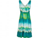 75% off Tommy Bahama Aqua Lagoon Cross-Back Dress, Teal