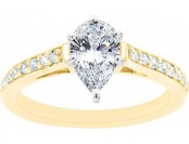 $6,457 off New York City Pear Shaped Certified Diamond Ring