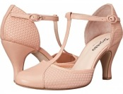 70% off Repetto Baya Woven Leather Nude High Heels