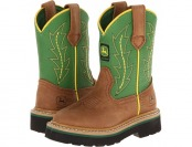 54% off John Deere Kids Classic Pull-On Cowboy Boots
