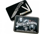 60% off Smith Wesson Oasis and Trapper Two-Knife Combo Tin