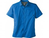 70% off Mountian Hardwear McLane Short-Sleeve Blue Shirt