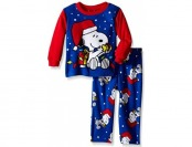 78% off Peanuts Little Boys' Snoopy Holiday Joy 2-Piece Pajama Set