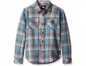 79% off Quiksilver Big Boys' Haybeam Shirt