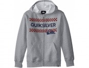 78% off Quiksilver Big Boys' Boxed Hoodie, Grey Heather