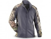66% off Guide Gear Men's Camo Trim Soft Shell Jacket, Gray