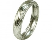 98% off 10kt White Gold Finger Bangle