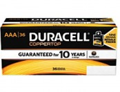 68% off Duracell Coppertop Alkaline AAA Batteries, Pack Of 36