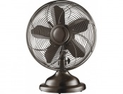 "$20 off Insignia 12"" Retro Table Fan - Copper"