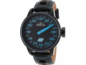 $515 off Invicta Watches Men's S1 Rally Black Genuine Leather Watch