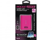 65% off Tzumi Pocketjuice Portable Charger - Pink