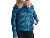 89% off Dylan Short Quilted Women's Jacket - Faux-Fur Collar