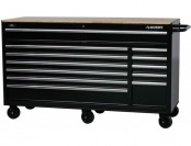 $200 off Husky 66 in. W 24 in. D 12 Drawer HD Mobile Workbench