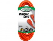 38% off Coleman Cable 25-Feet 16/3 Outdoor Extension Cord, Orange