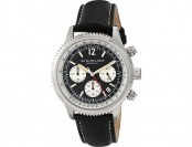 88% off Stuhrling Original Monaco Chronograph Date Leather Watch