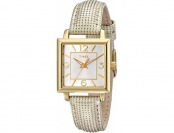 60% off Timex Women's Elevated Classics Gold-Tone Square Watch