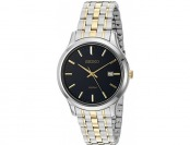 77% off Seiko SUR181 Men's Stainless Steel Dress Watch