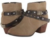 90% off DV by Dolce Vita Jacy (Taupe) Women's Zip Boots