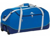 "83% off High Sierra Wheel N Go 36"" Royal Blue Duffel"