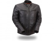 88% off Men's Updated Scooter Jacket with Reflective Piping