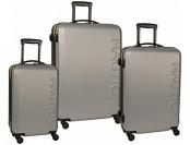 """88% off Nautica Ahoy 3 Pc Hardside Spinner Luggage Set (28""""/25""""/21"""")"""