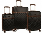 "85% off Anne Klein Greenwich 3 Pc Hardside Luggage Set (20""/24""/28"")"