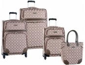 85% off Nine West Luggage Element 9 4Pc Expandable Luggage Set