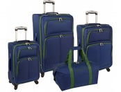 "84% off Nautica Bay Breeze 4 Pc Luggage Set (20""/24""/28"")"
