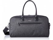 "89% off Pierre Cardin Crosby 19"" Duffle Bag, Herringbone/Black"