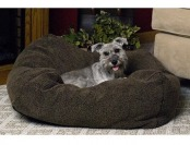 77% off K&H Cuddle Cube Dog Bed in Mocha