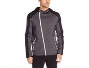 80% off Calvin Klein Men's Mix Media Interlock Performance Hoodie