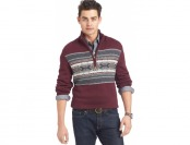 94% off Izod Big and Tall Fair-Isle Snowflake Sweater