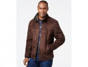 80% off Nautica Big & Tall Faux-Shearling Zip Jacket