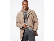 75% off London Fog Big & Tall Wool-Blend Car Coat