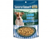 41% off Natural Balance Lamb Mini Meatballs Dog Treats