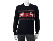 80% off Men's Dockers Reindeer Holiday Sweater