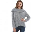 70% off Women's Jennifer Lopez Lurex Cowlneck Sweater