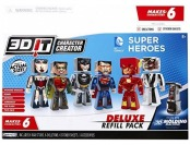 80% off 3D Character Creator DC Comics Deluxe Refill Pack