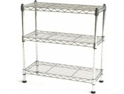 34% off Seville Classics Steel Wire 3 Shelf Cabinet Organizer