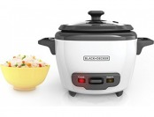 20% off BLACK+DECKER RC503 Mini 3-Cup Rice Cooker