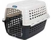 50% off Petmate 41031 Compass Plastic Pets Kennel with Chrome Door