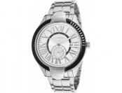 94% off Ted Lapidus Men's Stainless Steel Silver-Tone Dial Watch
