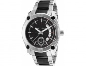 94% off Ted Lapidus Men's Two-Tone Stainless Steel Textured Dial Watch