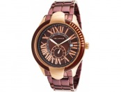 Ted Lapidus Women's Purple Ion Plated Stainless Steel Watch