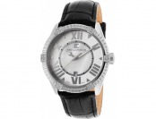 94% off Ted Lapidus Women's Crystal White MOP Dial Watch