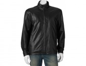 90% off Vintage Leather Straight-Botton Men's Leather Jacket